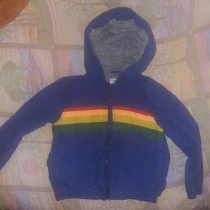 EUC Gymboree spring jacket size 2t/3t retro colors